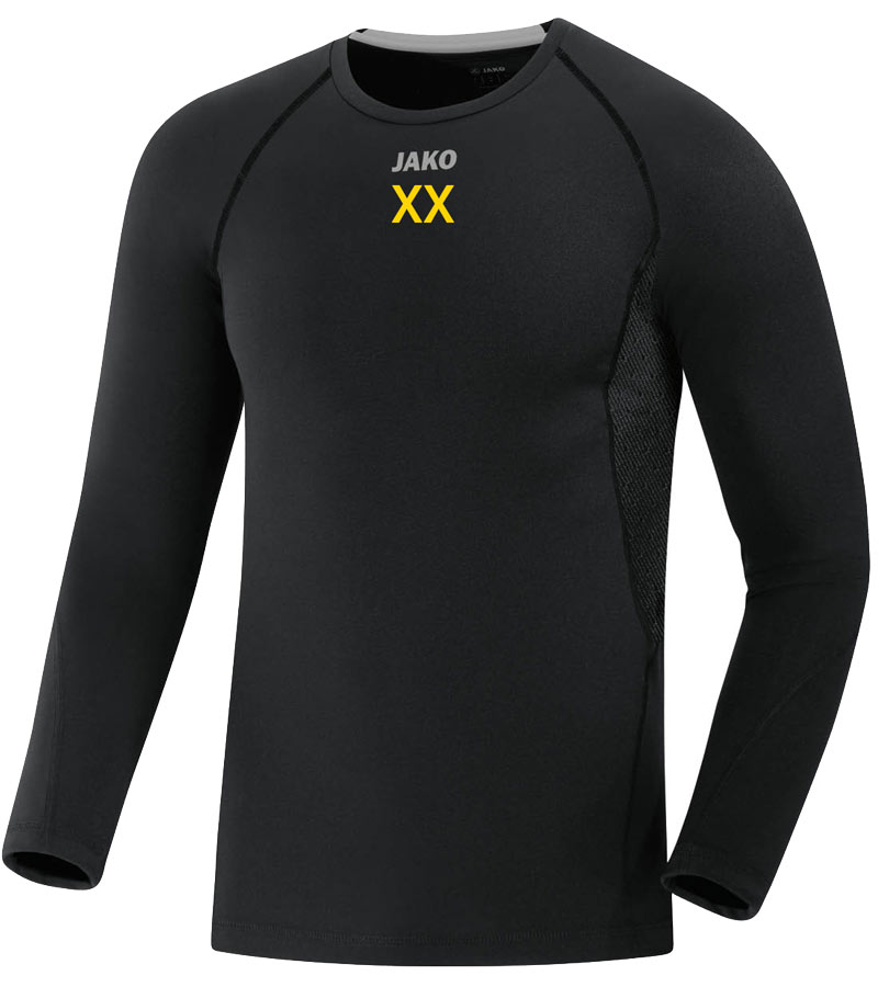 Longsleeve Jako Compression 2.0 Herren Post Germania Bautzen