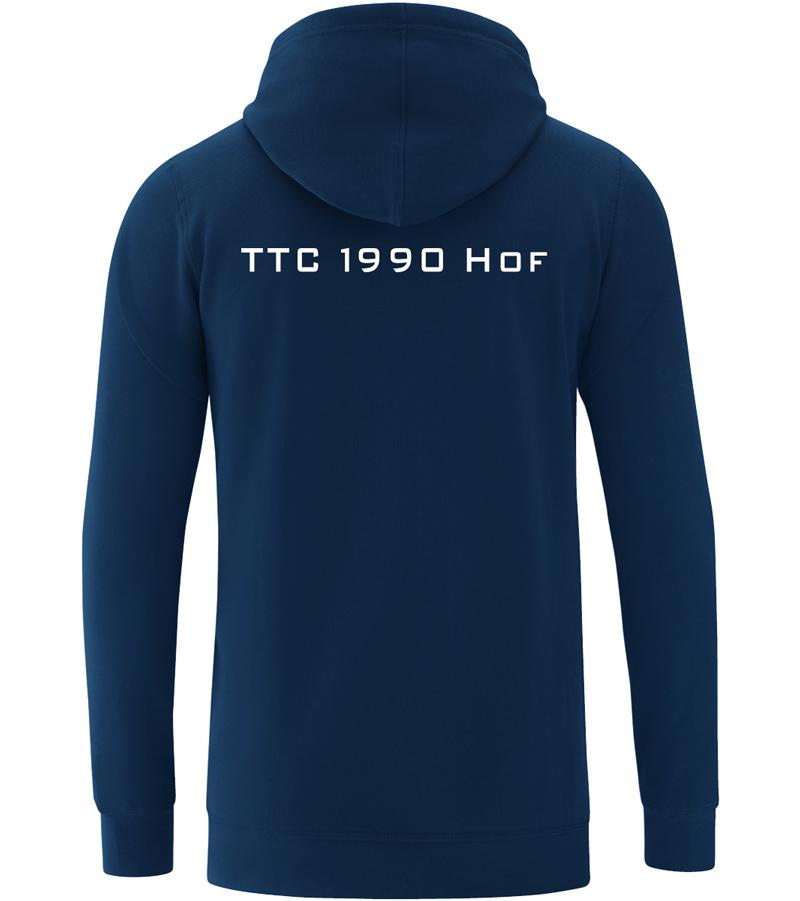 Kapuzenjacke Baumwolle Jako Base TTC Hof
