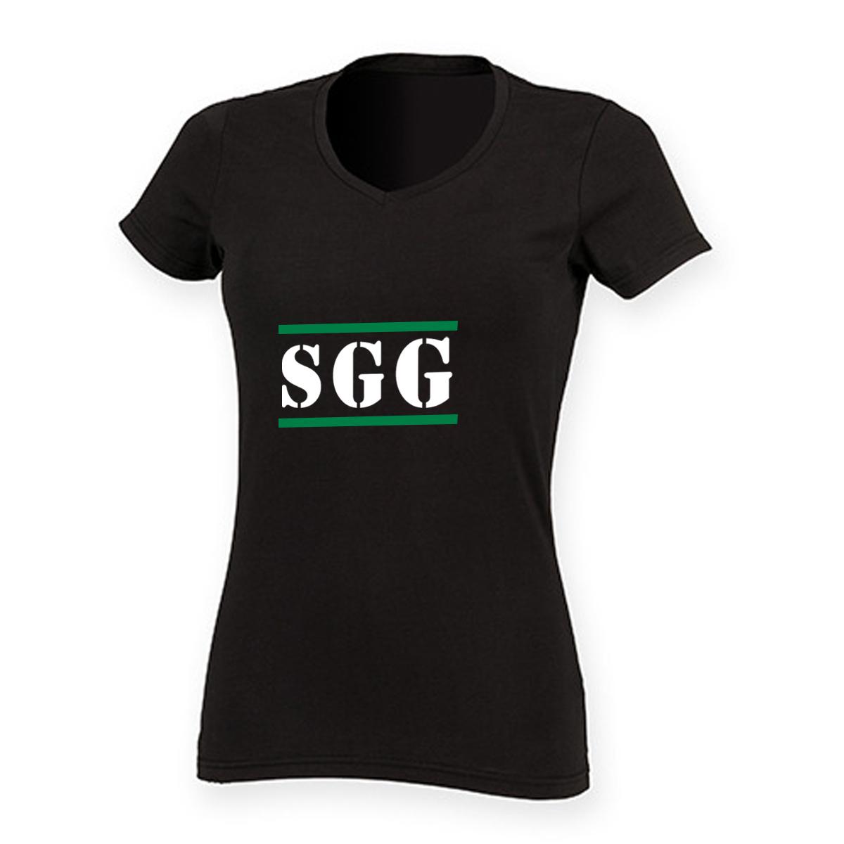 Fan-Shirt Damen SGG vorn SG Großnaundorf