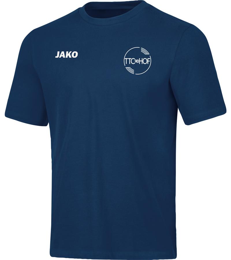 T-Shirt Baumwolle Jako Base TTC Hof